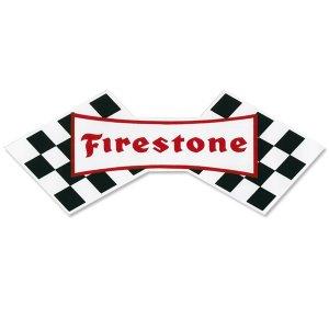 画像: ホットロッド ステッカー Firestone ステッカー