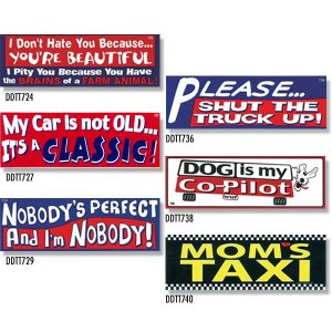 画像: Bumper Stickers -2 (DDTT-2)