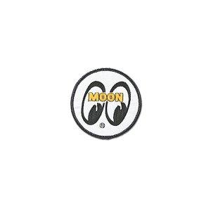 画像: MOONEYES パッチ ホワイト アイボール 7.5cm