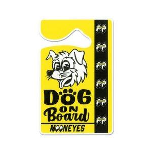 画像: MOONEYES パーキング パーミット - DOG ON BOARD