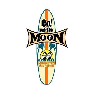 画像: MOON サーフボード ステッカー.