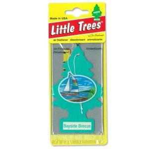 画像: Little Trees エアーフレッシュナー ベイサイド ブリーズ