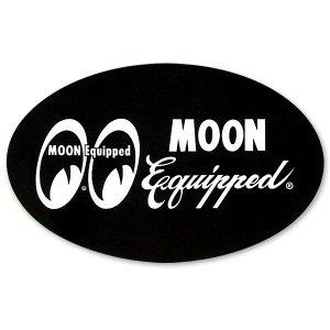 画像: MOON Equipped オーバル ステッカー