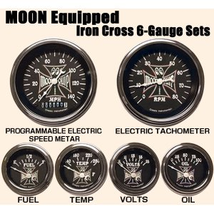 画像: MOON Equipped Iron Cross 6-Gauge Set