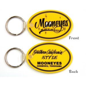 画像: MOONEYES Oval Rubber Key Ring