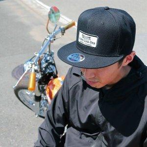 画像: MOON Custom Cycle Shop フラット ハット バイザー キャップ