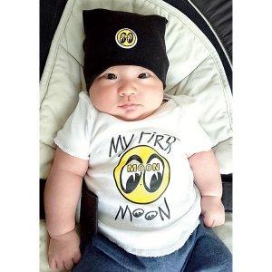 画像: MOON Baby コットン キャップ