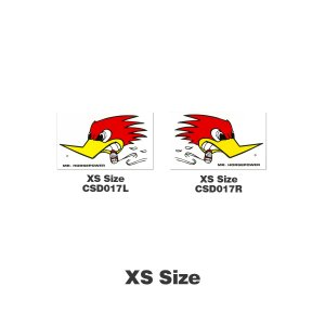 画像: クレイスミス ステッカー【XS】9×7cm