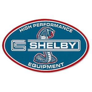 画像: ホットロッド SHELBY HI PERFORMANCE EQUIPMENT 【Big Size】ステッカー