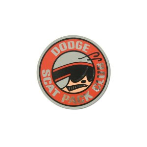 画像: ホットロッド ステッカー DODGE SCAT PACK CLUB ステッカー