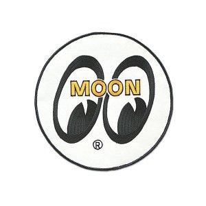 画像: MOONEYES パッチ ホワイト アイボール 20cm