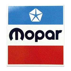 画像: HOT ROD ノスタルジック ステッカー 3インチ スクエア MOPAR デカール