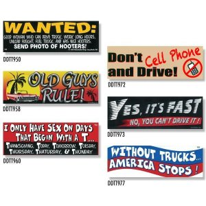 画像: Bumper Stickers -6 (DDTT-6)