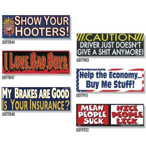 画像: Bumper Stickers -8 (DDTT-8)