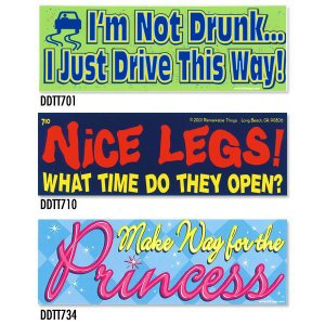 画像: Bumper Stickers -0 (DDTT-0)