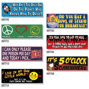 画像: Bumper Stickers -3 (DDTT-3)