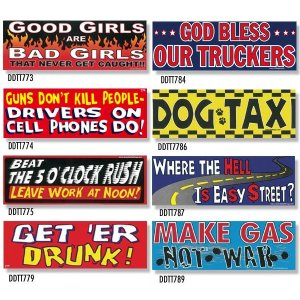 画像: Bumper Stickers -1 (DDTT-1)