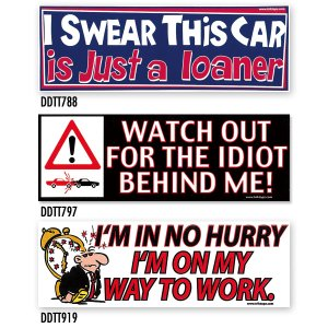 画像: Bumper Stickers -9 (DDTT-9)