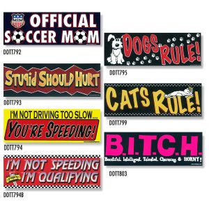 画像: Bumper Stickers -4 (DDTT-4)