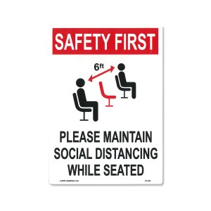 画像: Safety First ステッカー (安全第一)