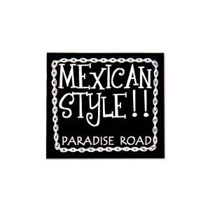 画像: パラダイス ロード メキシカン スタイル ステッカー(L)