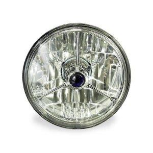 画像: 3 Pointed ダイヤモンド バックヘッドライト(モーターサイクル用)
