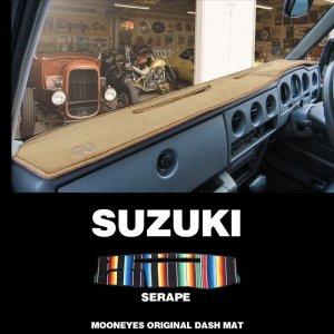 画像: SUZUKI(スズキ)用 オリジナル サラペ DASH MAT(ダッシュマット)