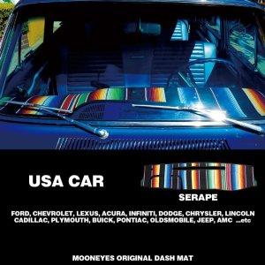 画像: USA CAR サラペ ダッシュマット