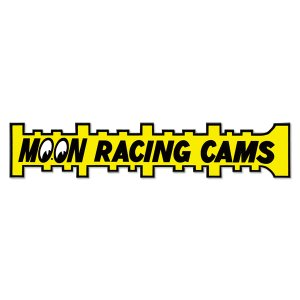 画像: MOON Racing Cams ステッカー Lサイズ