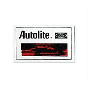 画像: ホットロッド ステッカー Autolite ステッカー
