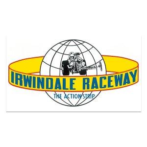 画像: HOT ROD ノスタルジック ステッカー Irwindale Raceway デカール