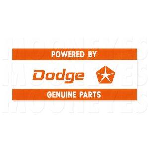 画像: ホットロッド ステッカー POWERED BY Dodge ステッカー