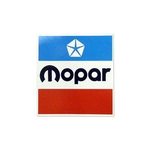 画像: ホットロッド ステッカー  MOPAR スクエア ステッカー 3.3インチ
