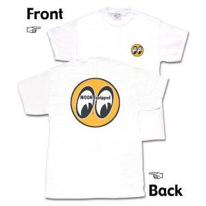 画像: MOON Classic Eyeball Logo Tシャツ