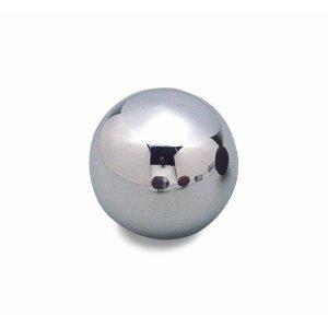 画像: MOONEYES クローム ボール シフトノブ プレーン