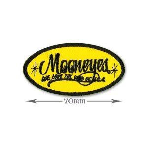 画像: MOONEYES Oval Logo パッチ S