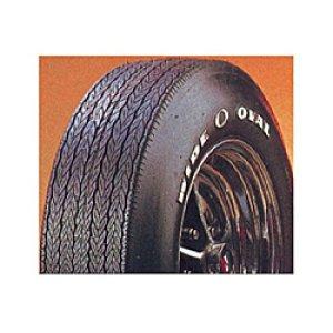 画像: Firestone ワイド オーバル レイズド ホワイト レター タイヤ D70-14