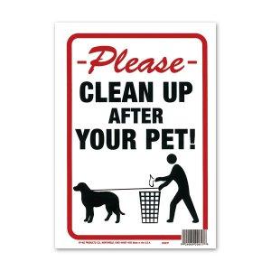 画像: CLEAN UP AFTER YOUR PET (ペットのゴミをキレイに!)