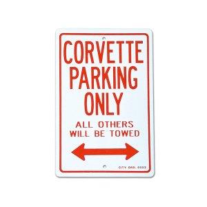 """画像: パーキング サイン ボード """"CORVETTE"""""""