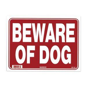 画像: BEWARE OF DOG 猛犬に注意