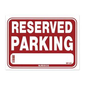 画像: RESERVED PARKING 専用駐車場