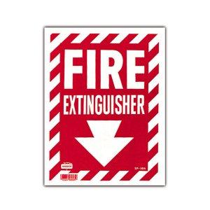 画像: 消火器