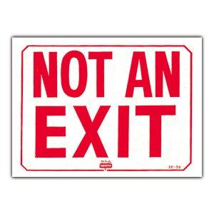 画像: 出口ではありません