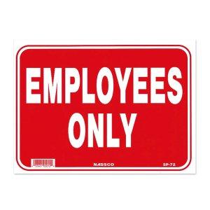 画像: 従業員専用