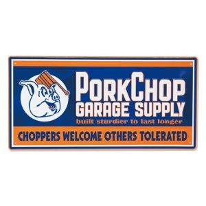 画像: PORKCHOP Choppers メタルサイン