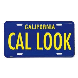 画像: カリフォルニア スティール ライセンス プレート CAL LOOK