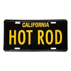 画像: MOONEYES カリフォルニア ライセンス プレート HOT ROD