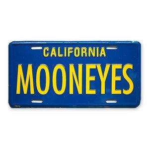 画像: MOONEYES カリフォルニア ライセンス プレート ブルー