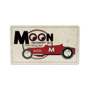 画像: MOON Roadster メタル サイン