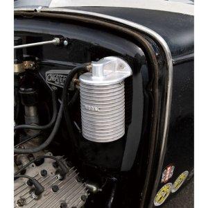 画像: MOONEYES オリジナル アルミニウム リモート オイル フィルター